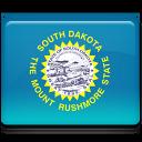 South Dakota Flag Emoticon