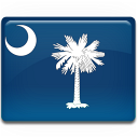 South Carolina Flag Emoticon