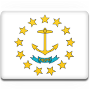 Rhode Island Flag Emoticon