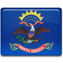 North Dakota Flag Emoticon