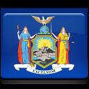 New York Flag Emoticon