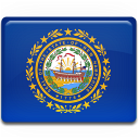 New Hampshire Flag Emoticon