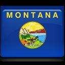 Montana Flag Emoticon