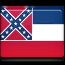 Mississippi Flag Emoticon