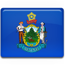 Maine Flag Emoticon