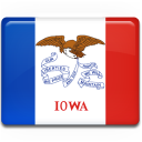Iowa Flag Emoticon