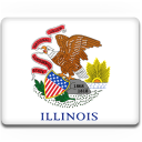 Illinois Flag Emoticon