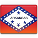 Arkansas Flag Emoticon