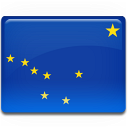 Alaska Flag Emoticon