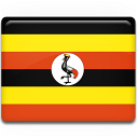 Uganda Flag Emoticon
