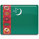 Turkmenistan Flag Emoticon