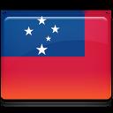 Samoa Flag Emoticon