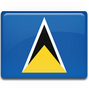 Saint Lucia Flag Emoticon