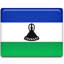 Lesotho Flag Emoticon