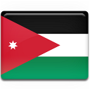 Jordan Flag Emoticon
