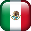 Mexico Flag emoticons, Mexico Flag icons for smart phone SMS Messages ...