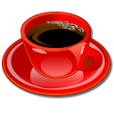 Coffeecup Red Emoticon