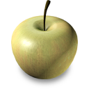 Green Apple Emoticon