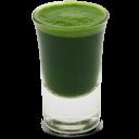 Wheatgrass Juice Shot Emoticon