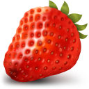 Strawberry Emoticon