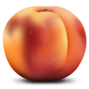 Peach Emoticon
