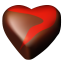 Chocolate Hearts 12 Emoticon