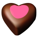 Chocolate Hearts 11 Emoticon