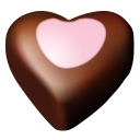 Chocolate Hearts 10 Emoticon