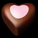 Chocolate Hearts 10 Emoticon