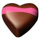 Chocolate Hearts 05 Emoticon
