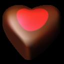 Chocolate Hearts 03 Emoticon