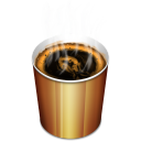 Coffee Hot Emoticon