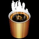Coffee Hot Emoticon