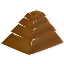 Chocolate Pyramid Emoticon