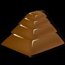 Chocolate Pyramid Emoticon