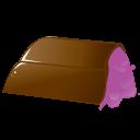 Chocolate Pink Emoticon