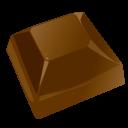 Chocolate Piece Emoticon