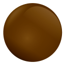 Chocolate Ball Emoticon