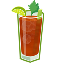 Bloody Mary Emoticon