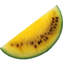 Yellow Watermelon Emoticon