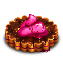 Berry Tart Emoticon