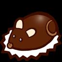 Souris En Chocolat Emoticon