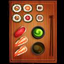 Sushi 3 Emoticon