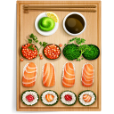 Sushi 1 Emoticon