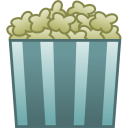 Pop Corn Emoticon