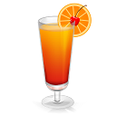 Cocktail Tequila Sunrise Emoticon