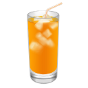 Cocktail Screwdriver Orange Emoticon