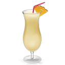 Cocktail Pina Colada Emoticon