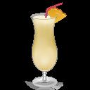 Cocktail Pina Colada Emoticon
