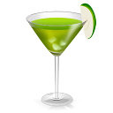 Cocktail Green Agave Emoticon